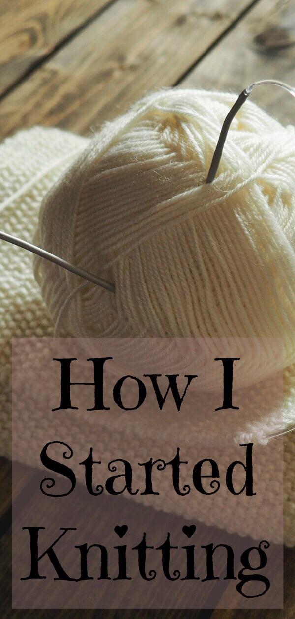 How I Started Knitting