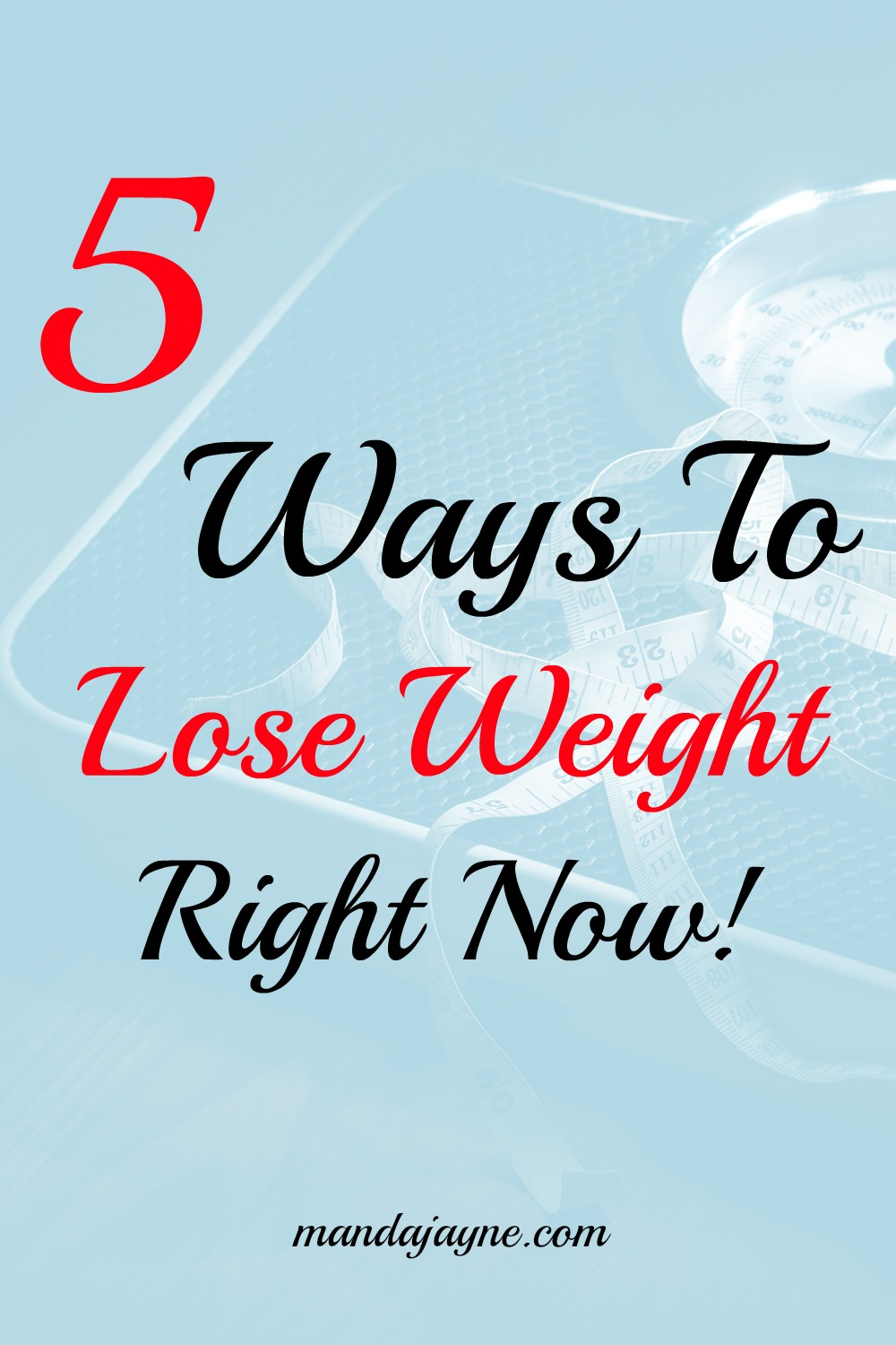 Easy Things to Do RIGHT NOW to Lose Weight