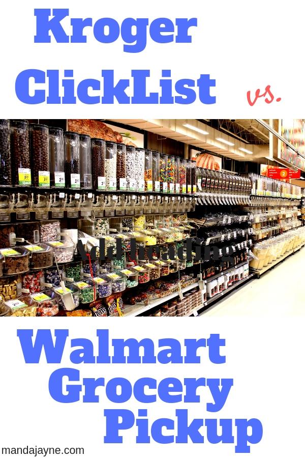 Walmart Vs. Kroger