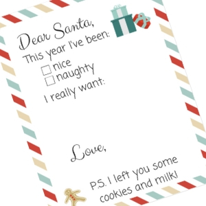 Write to Santa and Get a Reply + A Free Santa Letter Printable