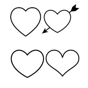 Free Printable Heart Templates: Different Sizes to Print