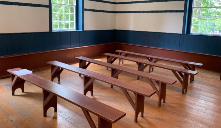 Meeting Room at Shaker Village