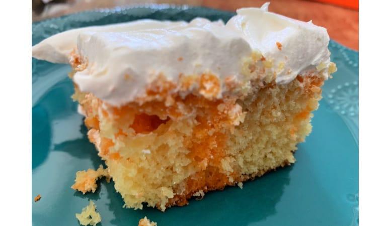 Orange Jello Poke Cake Recipe