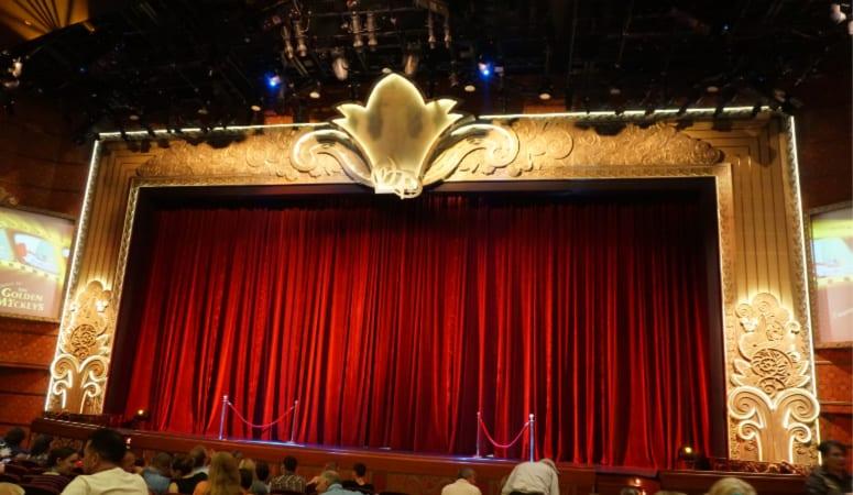 The Buena Vista theatre stage