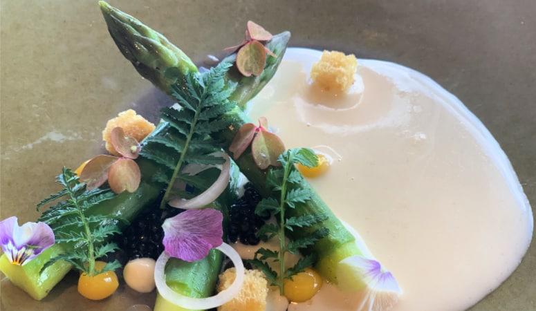 Asparagus and Caviar